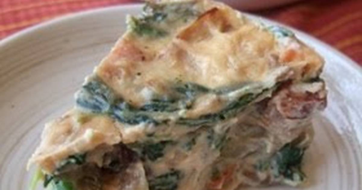 Spinach and Herb Quiche