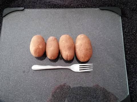 Vintage shoestring potato