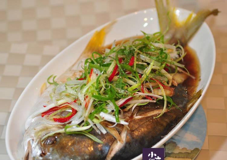 【轻松做鲳鱼】v鲳鱼金蘑菇山药by小六姐的健食谱鲍鱼炖年菜怎么搭配图片