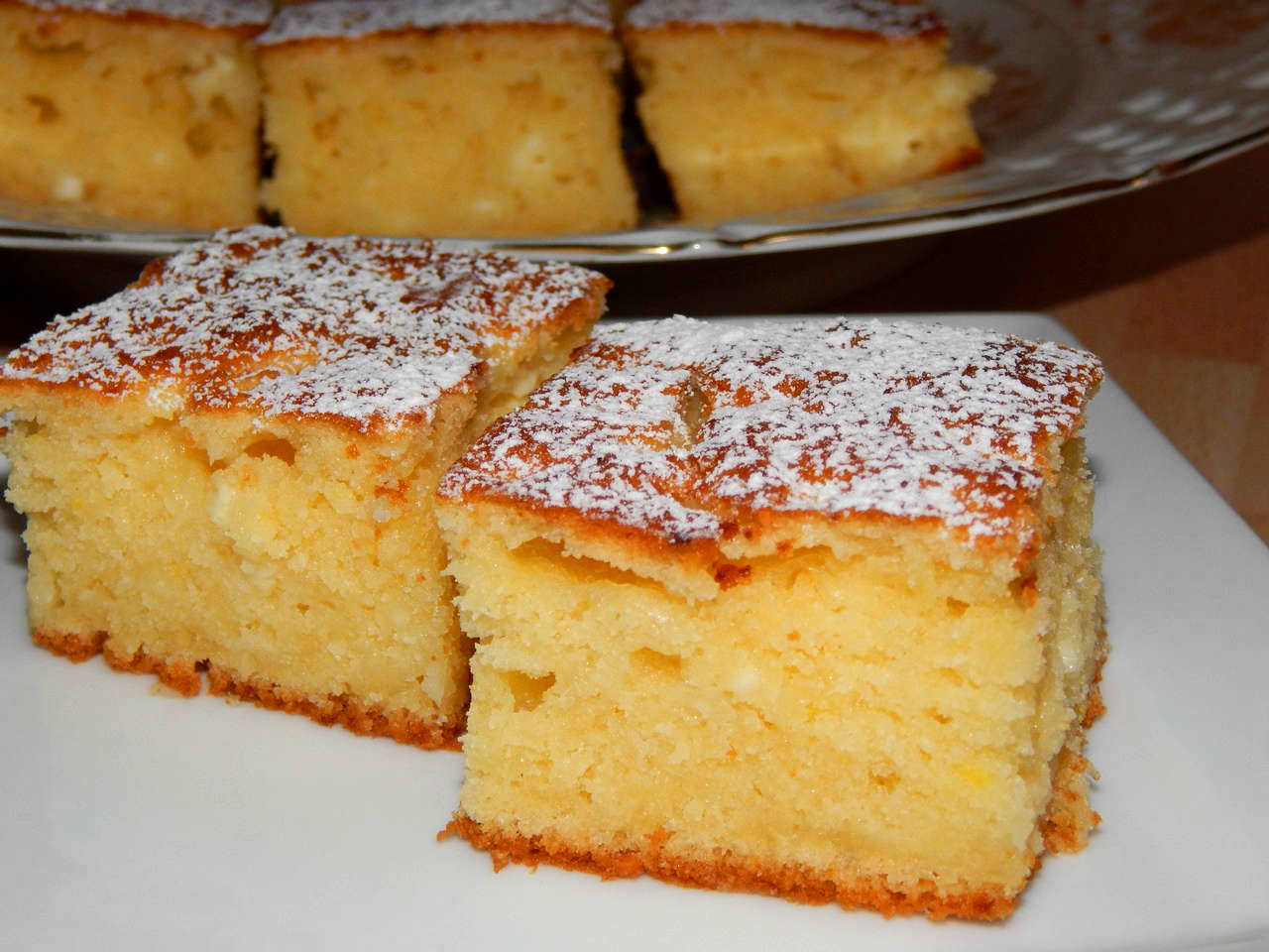 Пирог на скорую руку с творогом рецепт пошагово