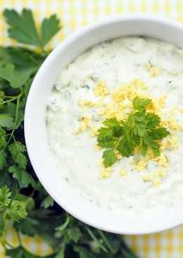 Соусы из сметаны для салатов новые фото