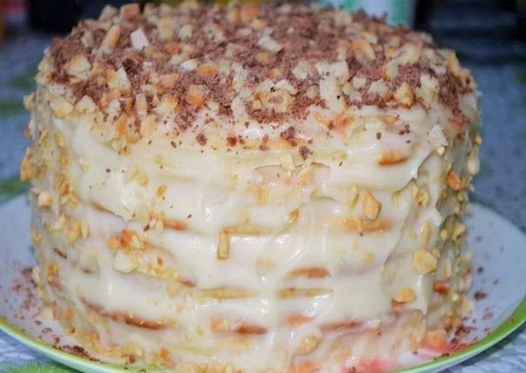 Быстрые рецепты творожных тортов