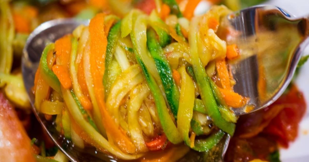 Кабачки по-корейски рецепт в домашних условиях быстрая с фото 303