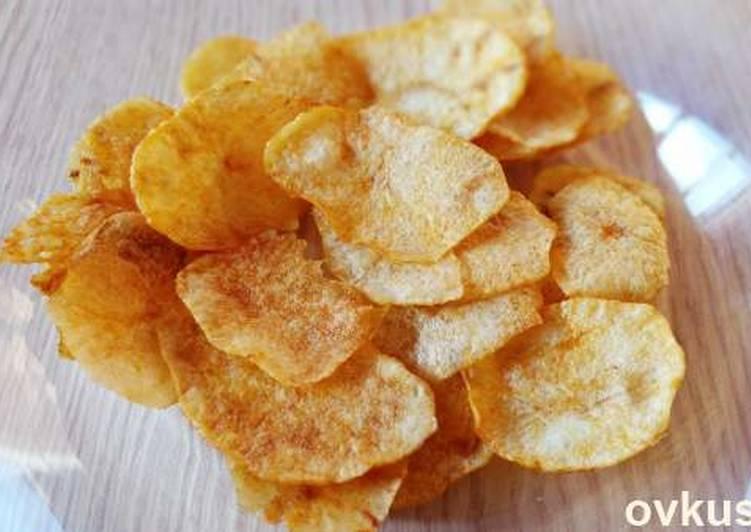 Как сделать домашние чипсы с фото 230
