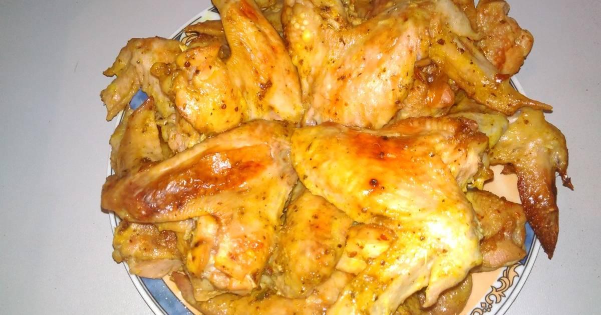 Рецепты крылышек в духовке с пошагово