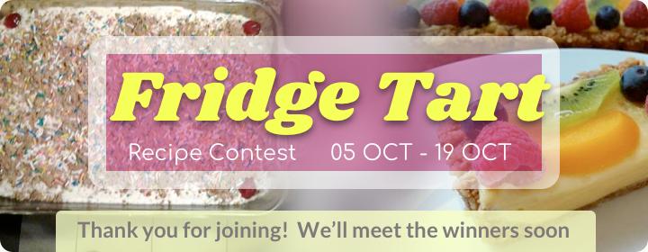 Fridge Tart Contest