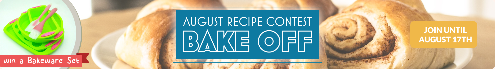 August Bake Off Recipe Contest