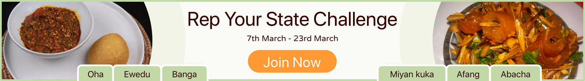 REP YOUR STATE CHALLENGE