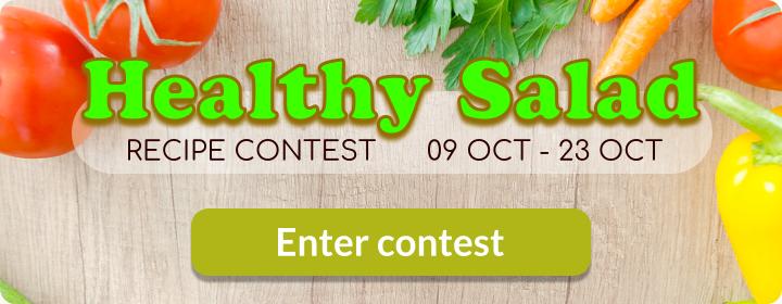 Healthy Salads Recipe Contest