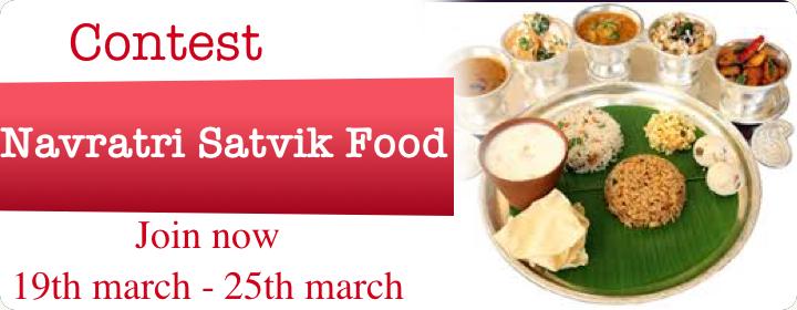 Navratri Satwik Food