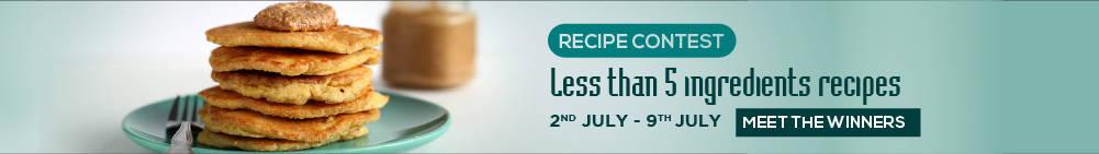 Less Than 5 Ingredient Recipes