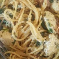 Creamy Pesto Bacon Chicken Pasta