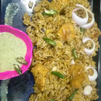 White mayonnaise chicken biryani