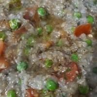 Mixed vegetables bajra khichdi