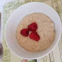 Breakfast banana porridge
