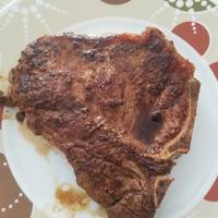 Simple pan-fried steak