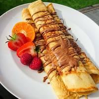 2 ingredient easy easy banana pancakes