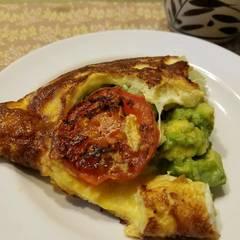 Cooksnap for Avocado Omelette