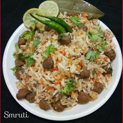 Cooksnap for Shahi Soya /Nutrela Pulao