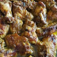 Baked Curry Chicken Wings