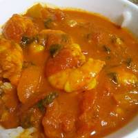 Instant Pot Shrimp curry