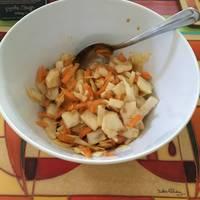 Healthy no-mayo coleslaw