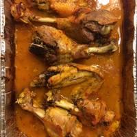 Baked Turkey Wings