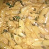 Crockpot Buffalo Chicken Pasta