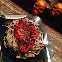 bloody garlic parmesan lungs chicken breast halloween