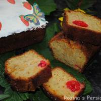 Aunty Eiko's Dark Cherry and Carrot Cake