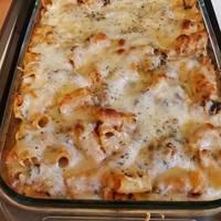 Lasagna-Style Baked Ziti Recipe by Zachary Reeve Davidson ...