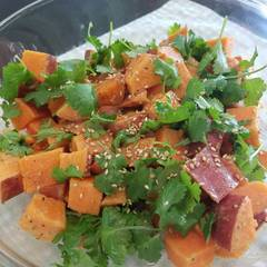 Cooksnap for Sweet Potato Salad with Mustard Dressing