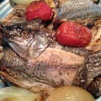 Roast Fish & Homemade Chutney - By DW