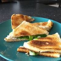 Chicken Ham and Cream Cheese Sandwich