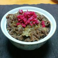Easy Gyudon, Beef Bowl