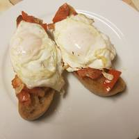 Bruschetta Sourdough with Egg