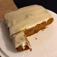 Pumpkin Bread with Maple Icing Glaze