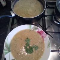 Yellow lentil soup - shorbet adass asfar