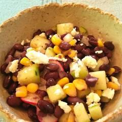 Cooksnap for Chilled Black Bean, Feta & Cucumber Salad