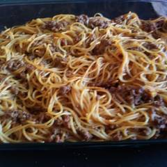 Cooksnap for Baked Spaghetti