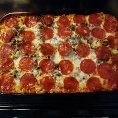Cooksnap for Pizza Casserole