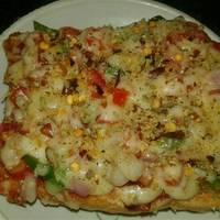 Vegetable Bread Pizza