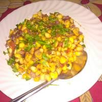 Sweet corn salsa (salad)