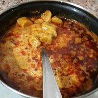 Spicy gatta curry