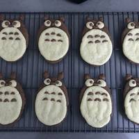 Totoro Cookies with Pancake Mix and Simple Ingredients