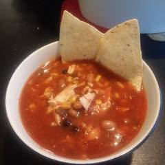 Cooksnap for Easy Slow Cooker Chicken Taco Soup