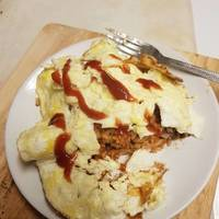 Easy Japanese Restaurant-Style Fluffy and Creamy Omurice