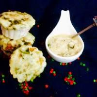 Layered Idli Muffins