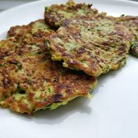 Low carb Courgette fritters
