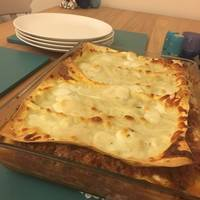 Lasagna (with some sneaky extra vegetables)